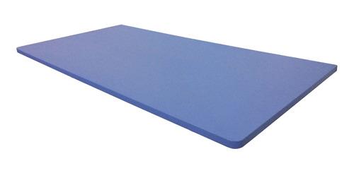 Mesa Dobrável Parede Bancada Azul Claro 90x45cm