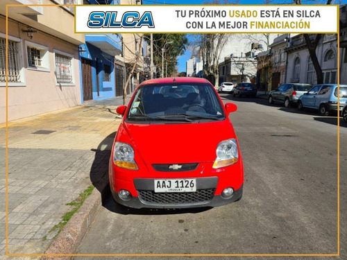 Chevrolet Spark Ls 2013 Rojo 5 Puertas