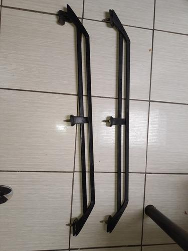 Imagem 1 de 4 de Rack De Teto Alumínio Parati Quadrada