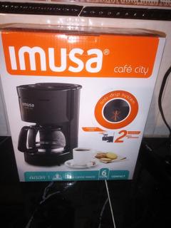 Cafetera Imusa Pequeña Casi Nueva