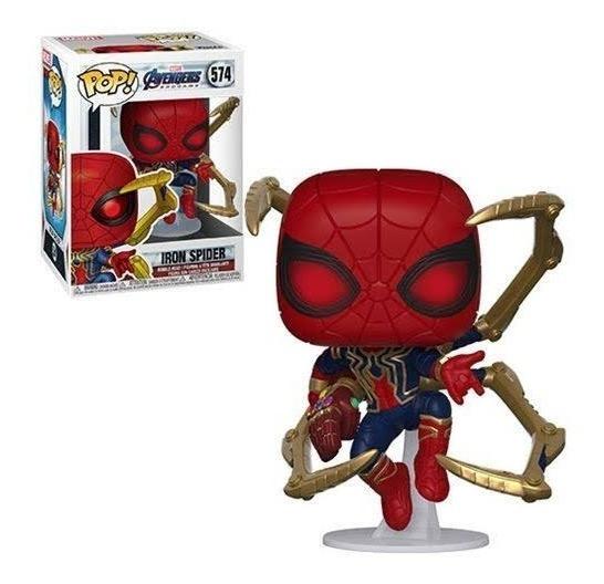 Funko Pop Iron Spider Endgame Numero 574 Con Guante