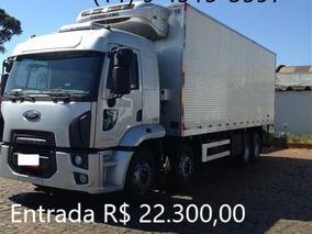 Ford Cargo 2429 Bau Refrigerado Ano 2014
