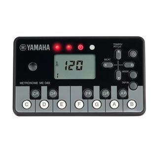 Yamaha Yamaha Metrónomo Digital Piano Negro Me-340pf