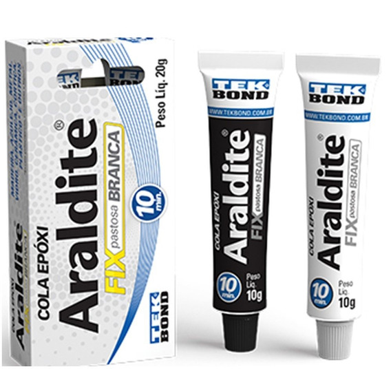 Adesivo Araldite Fix Branco Com 20g-tekbond-10838500800