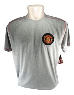 Camisa Manchester United Masculina Cinza