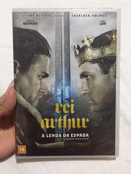 Dvd: Rei Arthur A Lenda Da Espada - Com Jude Law
