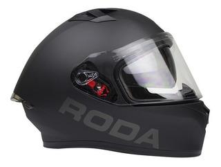 Casco Integral Roda Course Gafas Internas Certificado Dot