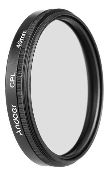 Lente Câmera D1608 De Nikon Sony Dslr Do Filtro De 49mm Cpl