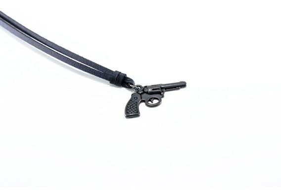 Colar Revolver Black Kipfer
