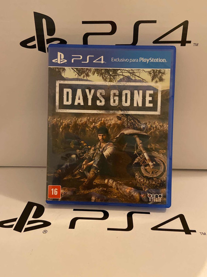 Jogo Days Gone Playstation 4 Ps4 Midia Fisica