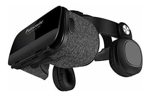 Pansonite Audifono Realidad Virtual Lente Cristal Hd