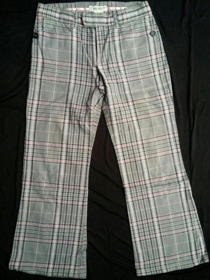 Pantalón Escocés De Nena Importado De Eeuu T. 7
