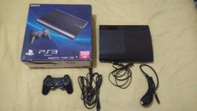 Playstation 3 Com Garantia De 01 Ano E Jogos