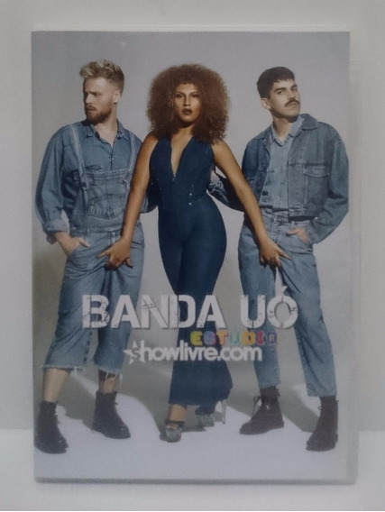 Banda Uó - Estudio Showlivre.com - Dvd + Cd