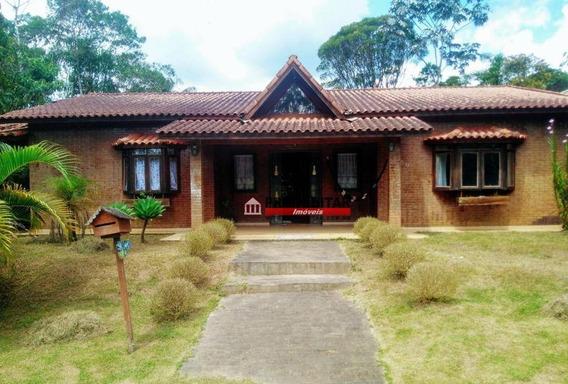 Vendo Linda Casa Térrea No Condomínio Interlagos Sul Com Sala Ampla, 3 Dormitórios Sendo Uma Suíte, 2 Banheiros, Cozinha, Churrasqueira - Ca2742