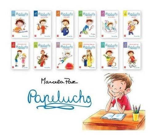 Pack Papelucho 12 Tomos Coleccion Completa Sm / Marcela Paz
