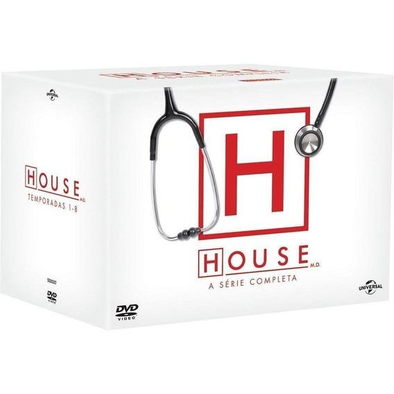 Dvd Box - House - 1ª A 8ª Temporada Série Completa Original