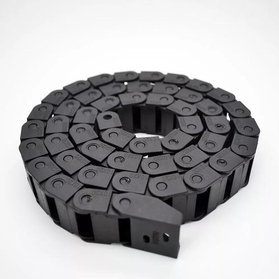 Esteira Porta Cabos 1mt 10mm X 20mm Impressora 3d E Cnc