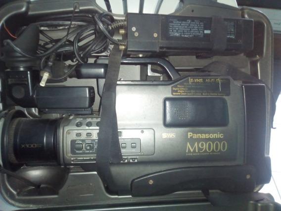 Filmadora Panasonic- M 9.000 Está Sem O Carregador.