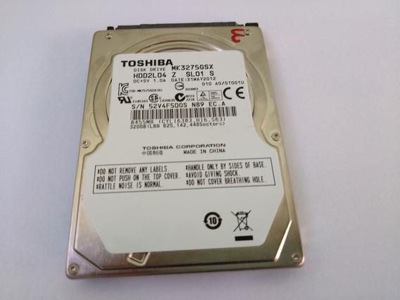 Hd 320gb Toshiba Mk3275gsx P/notebook Cce Ultra 25, Cce X30s