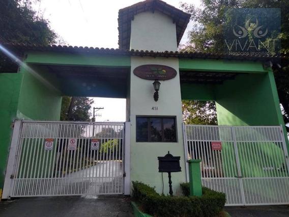 Apartamento Com 2 Dormitórios Para Alugar Por R$ 600,00/mês - Jardim Chácara Méa - Suzano/sp - Ap0236