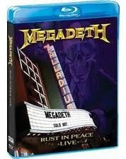 Dvd Blu Ray Megadeth Rust In Peace