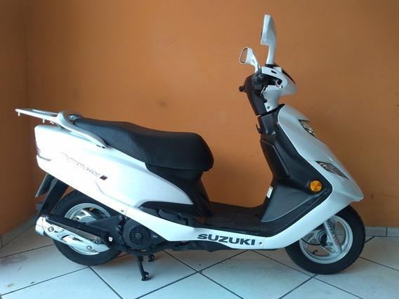 Suzuki Burgman 125 I 2013 Branca