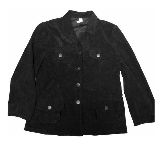 Blazer De Mujer Saco Negro T. 3/4