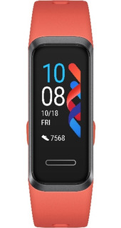 Pulseira Inteligente Huawei Fit Band4 Laranja Amber Original