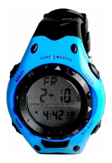 Relógio Digital Com Altímetro E Barômetro Echomaster Emw 25