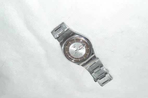 Relógio Seiko 5 Automático Mod 6119-8500 Raro -mido-citizen-