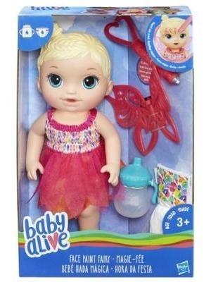 Boneca Baby Alive - Loira - Hora Da Festa - Hasbro