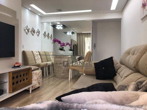 Imagem 1 de 25 de Apartamento Com 3 Dormitórios À Venda, 81 M² Por R$ 365.000,00 - Vila Industrial - Campinas/sp - Ap18138