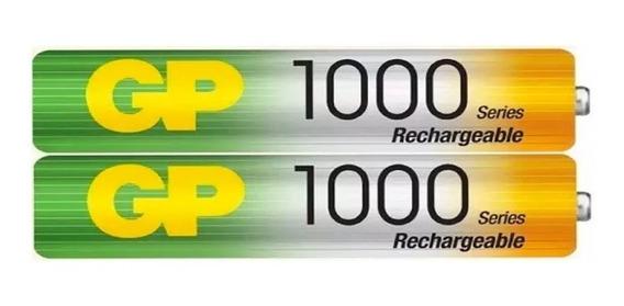 Baterias Recargables Gp Aaa 1000mah El Par