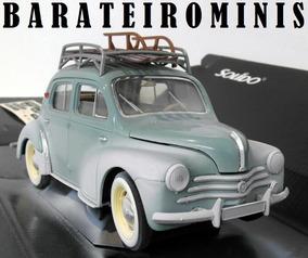 1:18 Renault 4cv Galerie Ski Winter Ed Solido Barateirominis