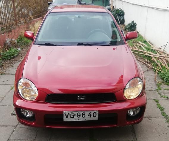 Subaru Impreza 2000 Awd Gl 2002