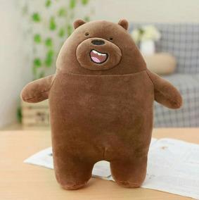 Pelúcia Pardo Urso Sem Curso