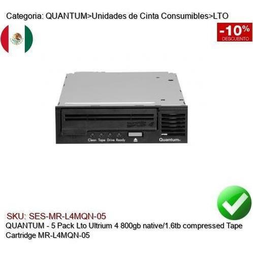 Imagen 1 de 2 de Quantum Mr-l4mqn-05 800/1600gb Lto Ultrium 4 Data Cartridge