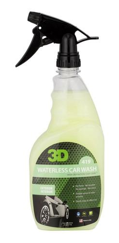 Waterless / Lavado Sin Agua 3/4 Lt. / 3d Detailing