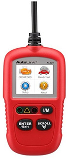 Autel Autolink Al329 Actualizado Al319 Lector De Codigo Obdi