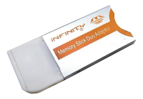 10x Adaptador De Cartão Sony Memory Stick Pro Duo Para Pro
