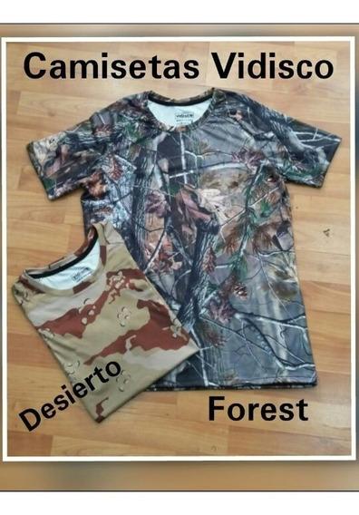 Camiseta Camo Pesca