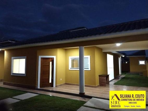Casa 3 Qts, Terreno 439 M² Itaipuaçu- R$ 460 Mil - 278