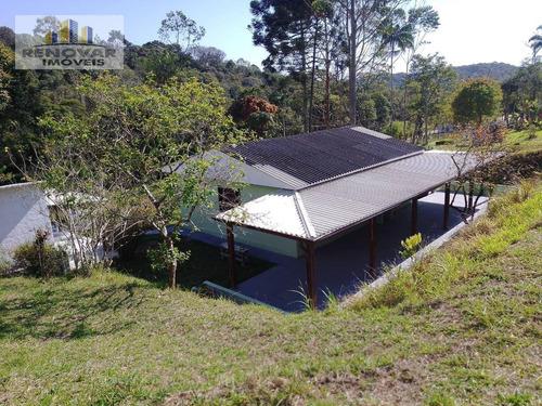 Imagem 1 de 13 de Chácara Com 2 Dormitórios À Venda, 1500 M² Por R$ 720.000,00 - Biritiba Ussu - Mogi Das Cruzes/sp - Ch0009