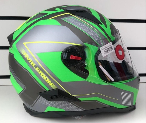 Casco Athos Helmets Action Condor - Integral Verde Mate