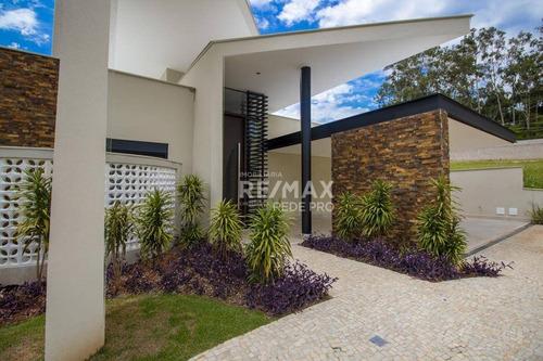 Casa Com 4 Quartos Sendo 4 Suítes À Venda, 424 M² Por R$ 2.150.000 - Villa D´oro - Vinhedo/sp - Ca6951