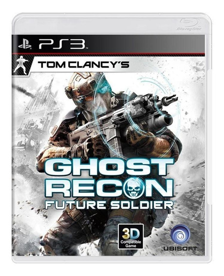 Tom Clancys Ghost Recon Future Soldier Ps3 Mídia Física