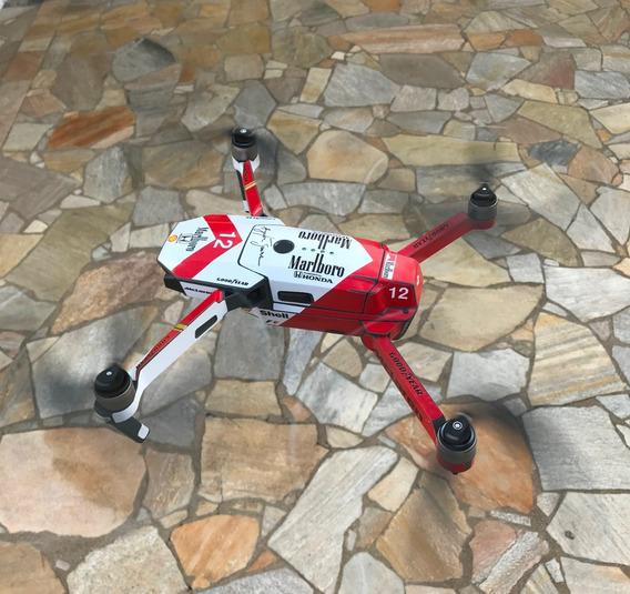 Drone Dji Mavic Pro Fly More Combo Cartão 32gb + Acessórios