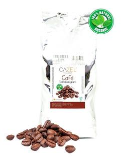 Café Pluma Hgo Oax En Grano Tostado Medio 1kg Envío Gratis