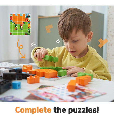 Aniblock Puzzle Challenger All In One Pack Stem Learning...